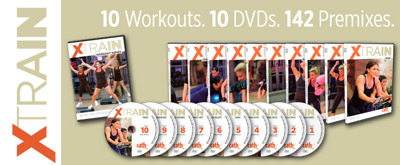 Cathe Friedrich XTrain full body home exercise DVD program for women and men